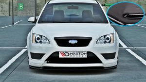 FORD FOCUS MK2 Kühlergrill Blende Sprotgrill Spoiler Grill WRC RS ST CARBON LOOK