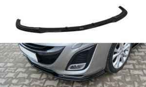 Cup Spoilerlippe Front Ansatz Diffusor Carbon Look MAZDA 3 BL MK2 SPORT