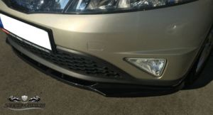 Cup Spoilerlippe Front Diffusor Schwarz Civic MK8