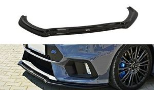 Cup Spoilerlippe Front Diffusor Schwarz Ford Focus 3 RS v.4