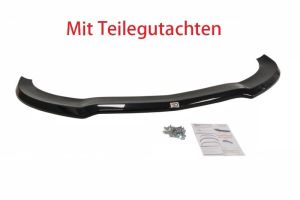 Cup Spoilerlippe Front Ansatz Diffusor Carbon Look V.1 MERCEDES CLA 45 AMG C117