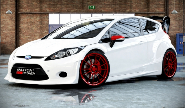rallye kit breitbau bodykit sto stange ford fiesta mk7 ja8. Black Bedroom Furniture Sets. Home Design Ideas