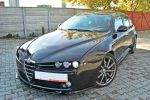 ALFA ROMEO 159 V.1 Bodykit Cup Spoilerlippe Schweller Heck Diffusor Flaps Carbon